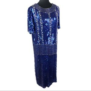 Gorgeous vintage 80's sequins dress